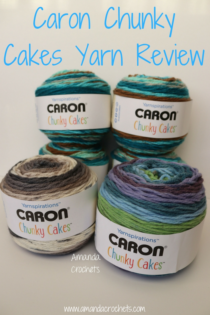 Caron Chunky Cakes Yarn Review - Amanda Crochets