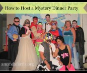 how to host a mystery dinner party
