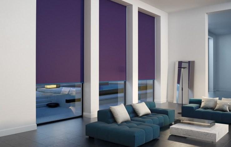 purple rollers