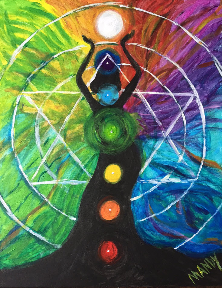 Chakras by Amanda Gatlin Energy Worker