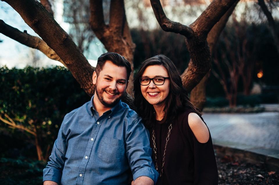 One of Catherine and Anthony's engagement photos, courtesy of Jordan G. Photography