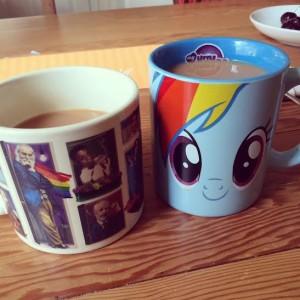 Even our tea celebrated