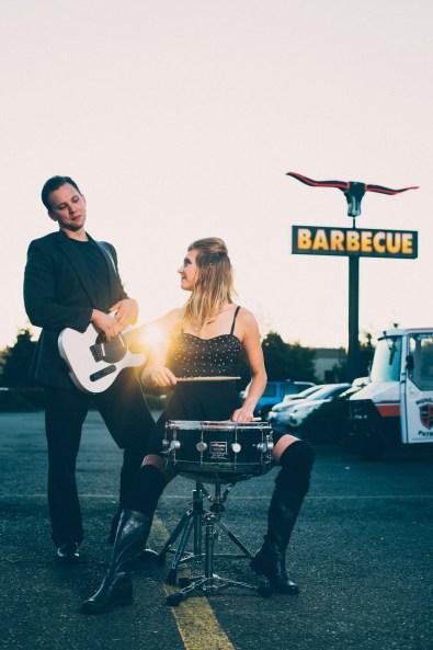 Jerett Samples + Heather Thomas // Amanda Kolstedt Photography // Band Portraiture