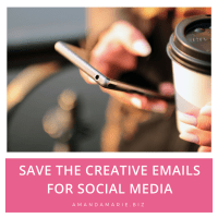 Save The Creative Email Addresses for Social Media