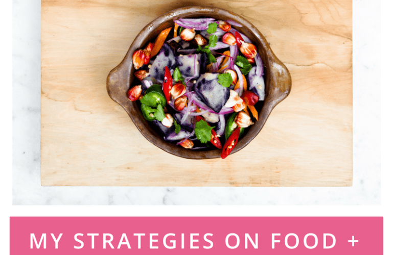 My Strategies on Food + Its Impact on My Thinking