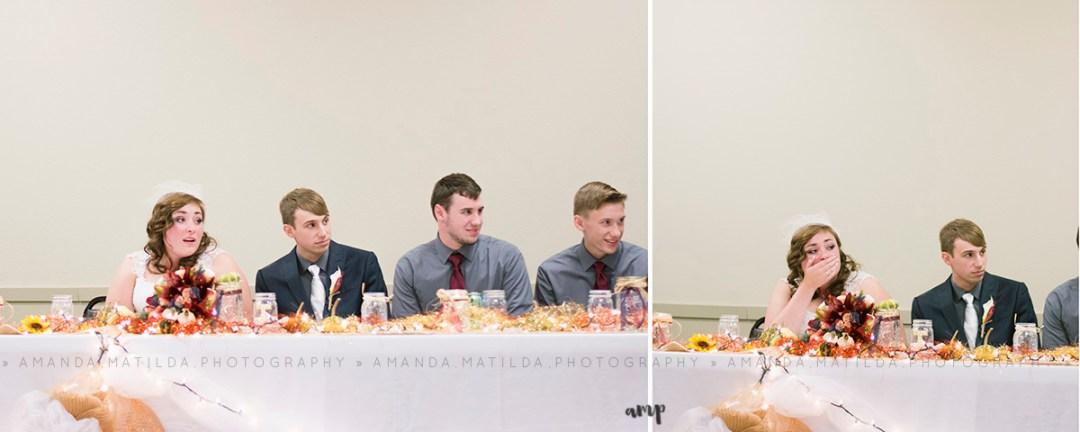 reception surprise | grand junction wedding photographer