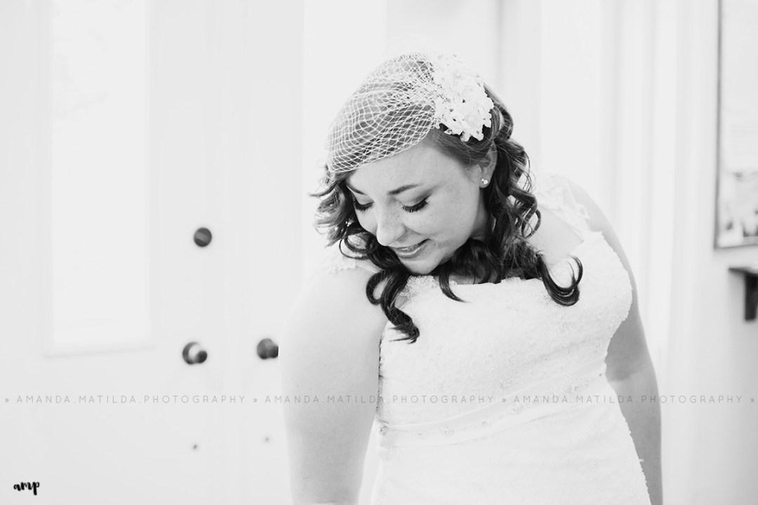 Stunning Bride in B&W | Grand Junction Wedding Photographer