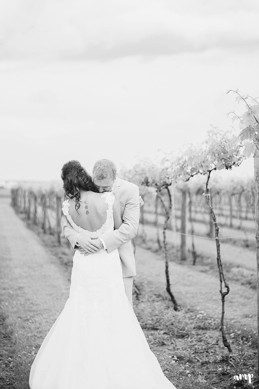 First Look | | Palisade Winery Wedding Photographer