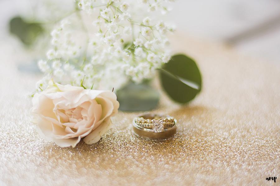 wedding rings | Ali and Joe's #gardenwedding by amanda.matilda.photography | Colorado Wedding Photographer