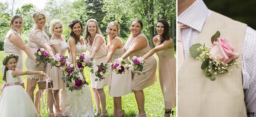 bridesmaids | Ali and Joe's #gardenwedding by amanda.matilda.photography | Colorado Wedding Photographer