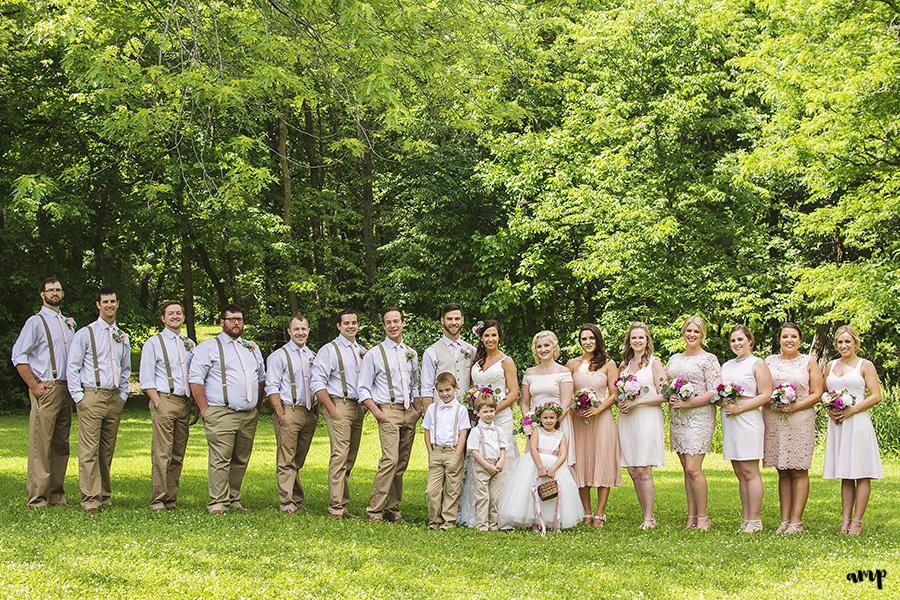 bridal party | Ali and Joe's #gardenwedding by amanda.matilda.photography | Colorado Wedding Photographer