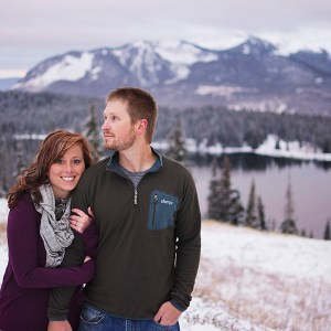 Crested Butte engagement photos | sunrise mountain engagement session
