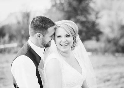 bride laughing | Palisade Wedding by amanda.matilda.photography
