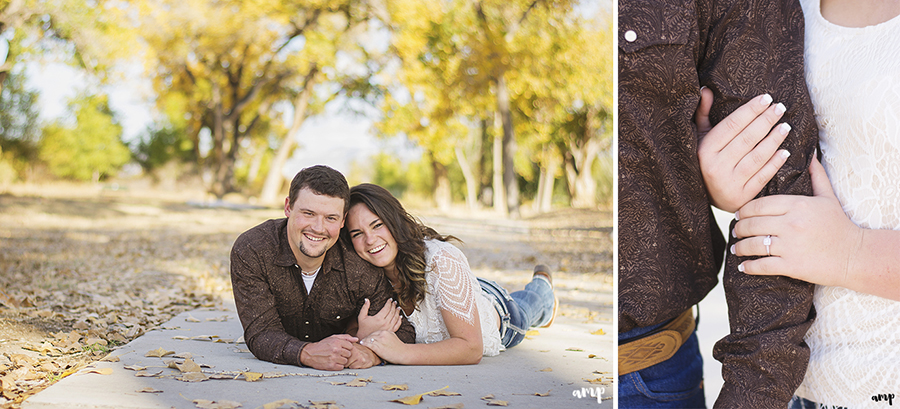 Fall Grand Junction engagement photos