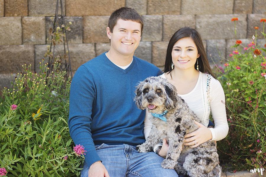 Engagement session with your dog   Grand Junction engagement photographer   amanda.matilda.photography