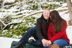 Rifle Fall Cascades Engagement Photographer | amanda.matilda.photography