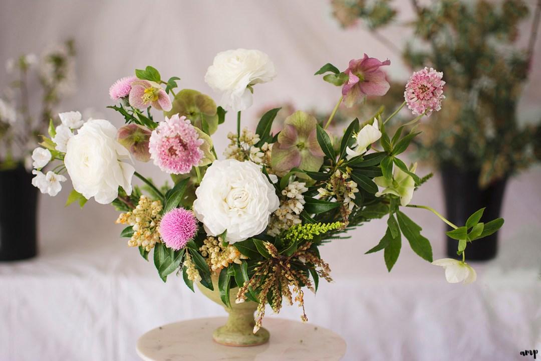 3 Leaf Floral Design - Creating a Spring Centerpiece | Grand Junction Wedding