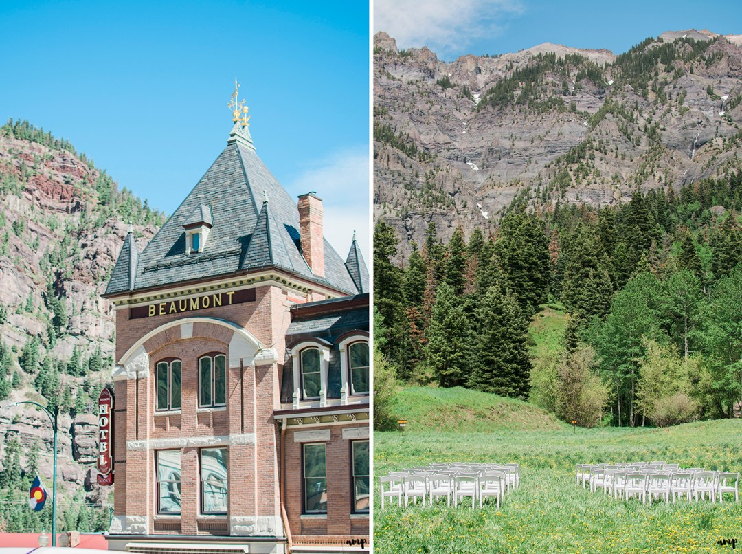 Ouray Wedding at the Amphitheather and Beaumont Hotel | amanda.matilda.photography