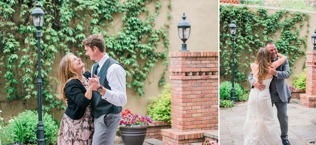 First dances at wedding reception