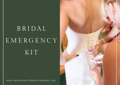 Bridal Emergency Kit - What to Pack   amanda.matilda.photography