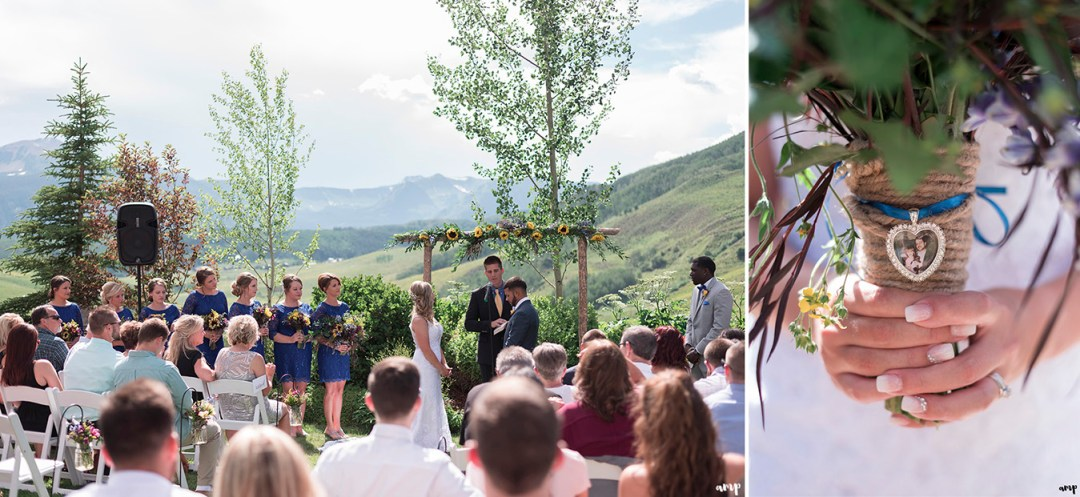 Crested Butte Mountain Wedding Garden summer wedding   amanda.matilda.photography