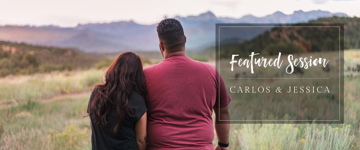 Featured Engagement Session | Ridgway State Park by amanda.matilda.photography