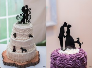 Wedding Cake Toppers to Include Your Pets