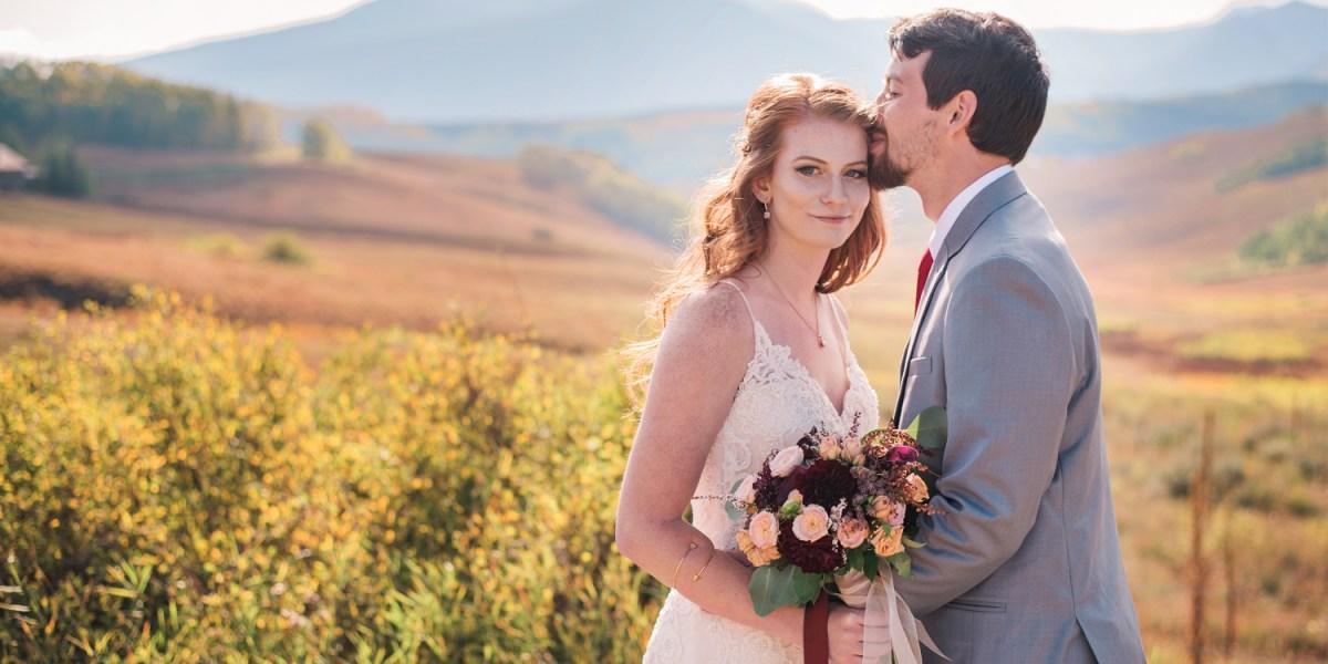 Fall Wedding in Crested Butte at the Mountain Wedding Garden | amanda.matilda.photography