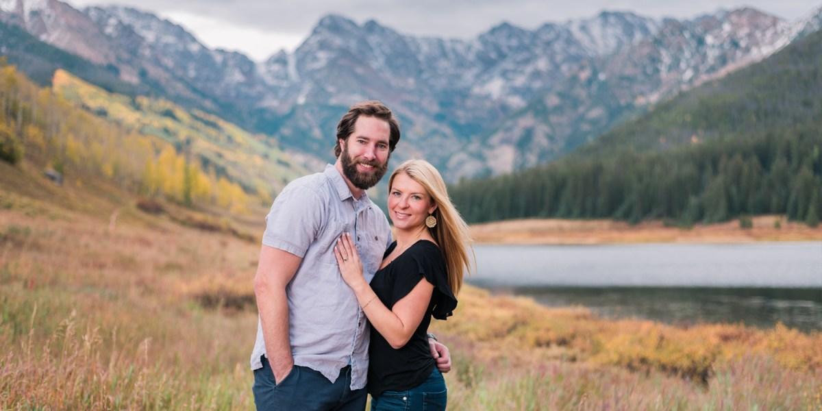 Piney River Ranch Engagement in Vail Colorado | amanda.matilda.photography