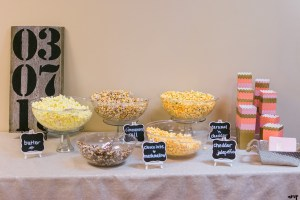 Wedding Reception Bar Inspiration | Popcorn Bar