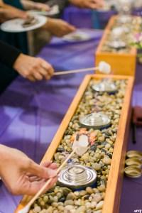 Wedding Reception Bar Inspiration | Smores Bar