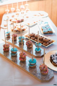 Wedding Reception Bar Inspiration   Donut Bar