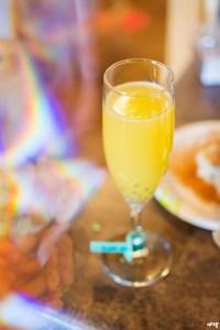 Wedding Reception Bar Ideas | Mimosa Bar