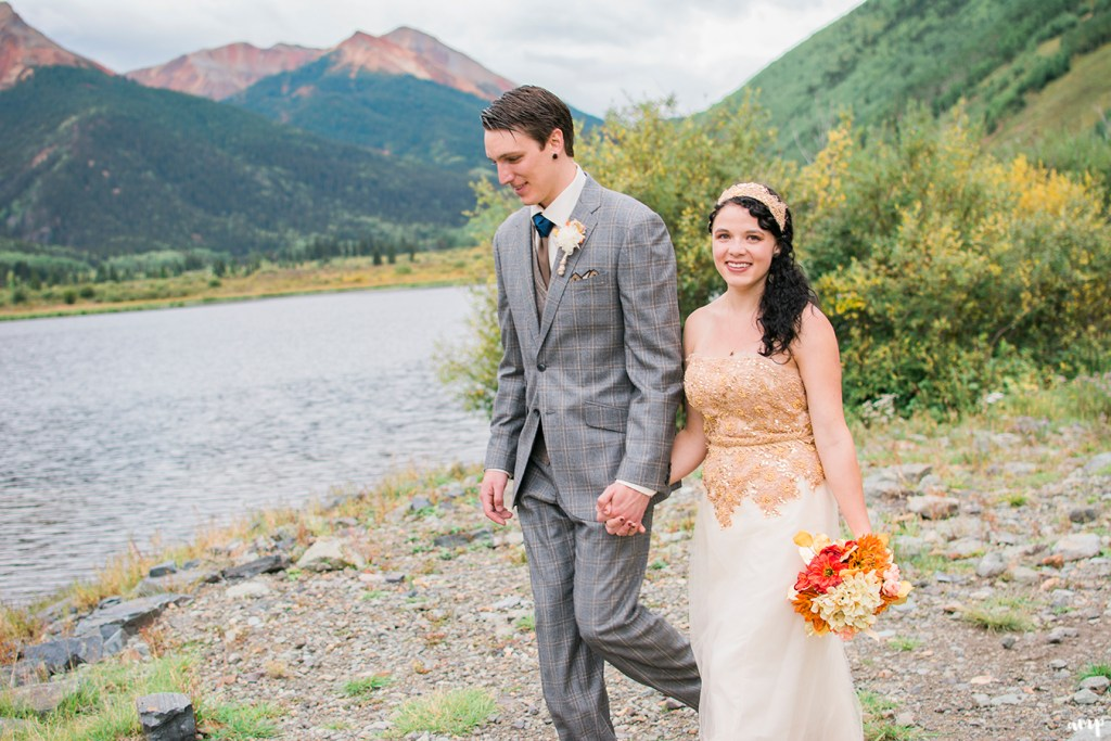 Ouray Wedding at Crystal Lake | Ouray Wedding Photographer | amanda.matilda.photography