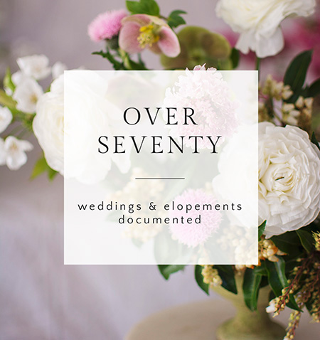 By the Numbers: Over 70 Wedding Documented | amanda.matilda.photography