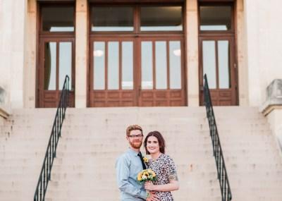 Ben & Courtnee's Wichita Courthouse Wedding | amanda.matilda.photography