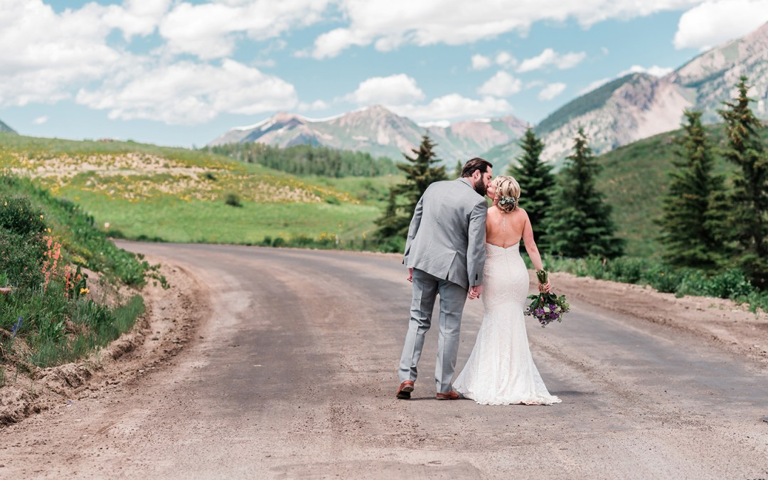 Dan & Courtney | Crested Butte Wedding at the Mountain Wedding Garden