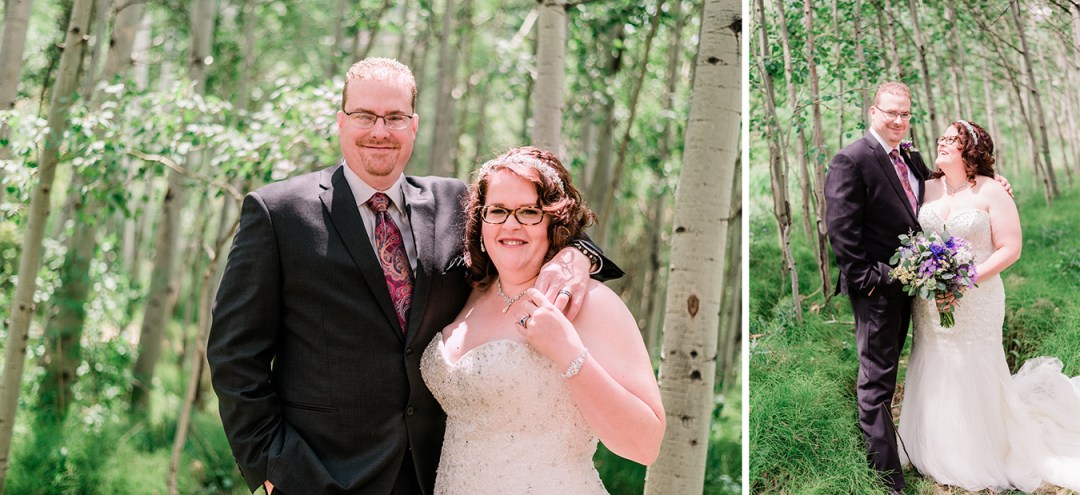Ouray Wedding at a Private Lake | amanda.matilda.photography
