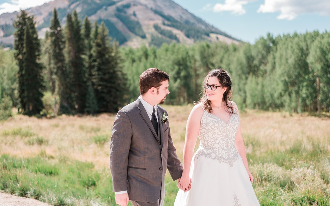 Nate & Alyse | Intimate Crested Butte Wedding at The Mountain Wedding Garden