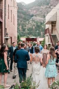 Mark & Rae's Ouray wedding at Yankee Boy Basin and Beaumont Hotel | amanda.matilda.photography