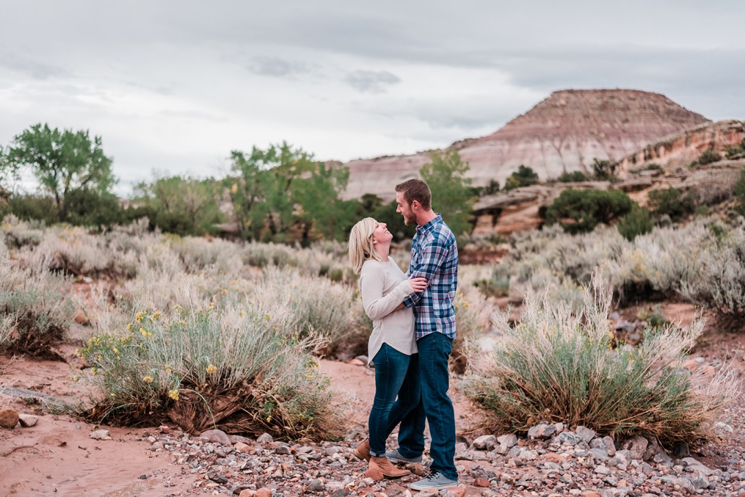 Brandon & Jennifer's fall engagement in downtown Grand Junction | amanda.matilda.photography