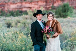 Tyler & Kirsten's Elopement at Gateway Canyons Resort