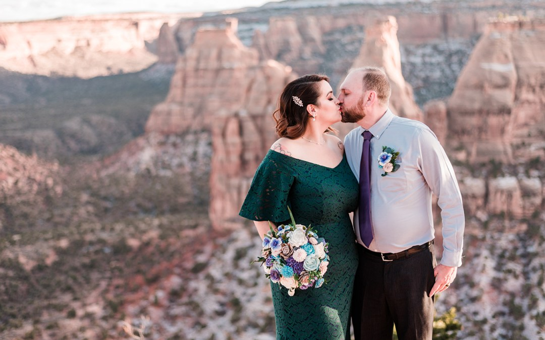 Getting Married at the Colorado National Monument