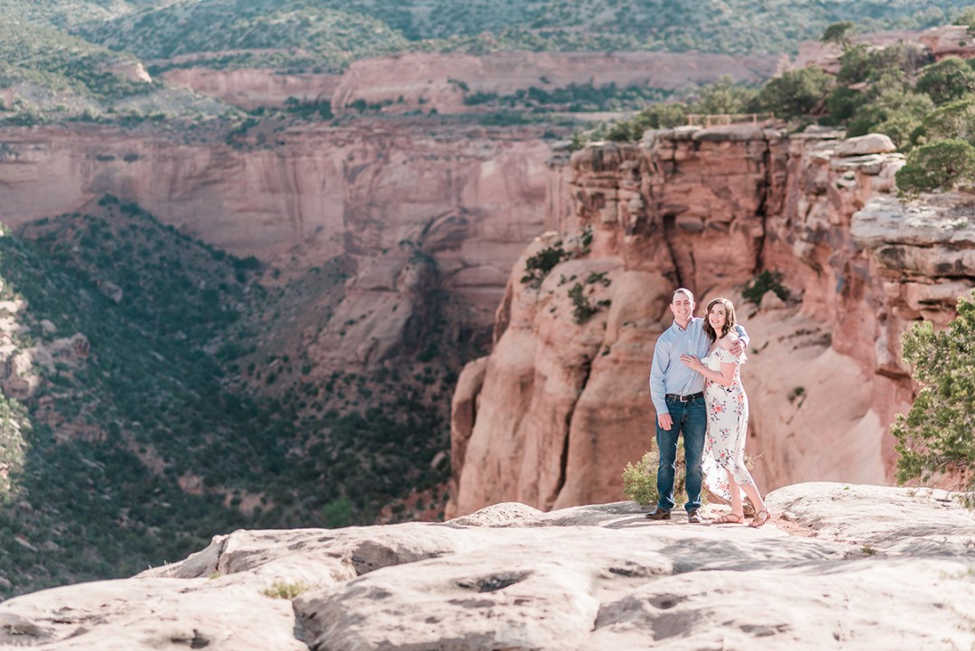 Alec & Emily   Spring Engagement Photos on the Colorado National Monument