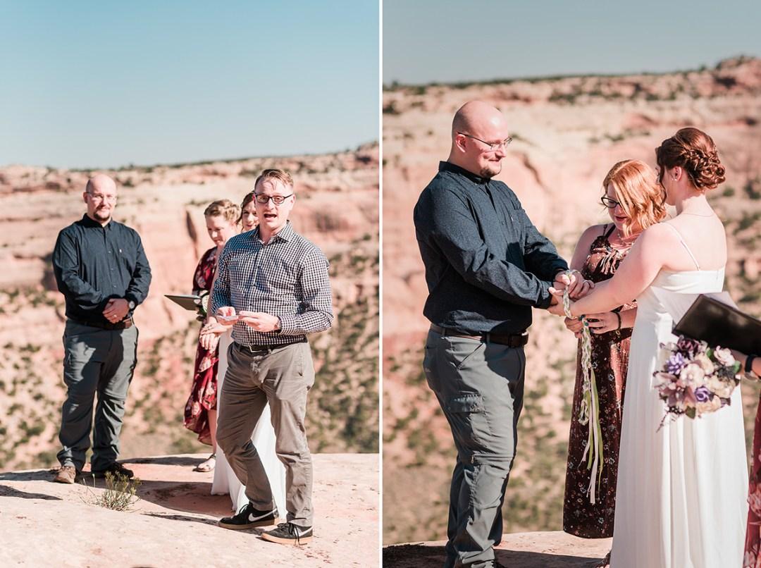 Graham & Elizabeth | Elopement on the Colorado National Monument
