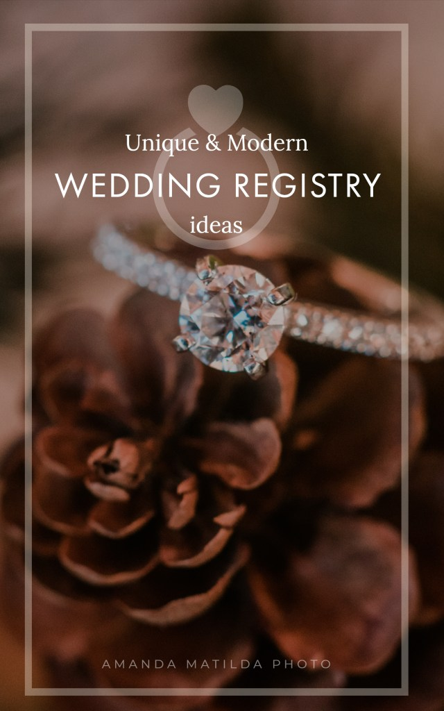 Unique & Modern Wedding Registry Ideas   Amanda Matilda Photography