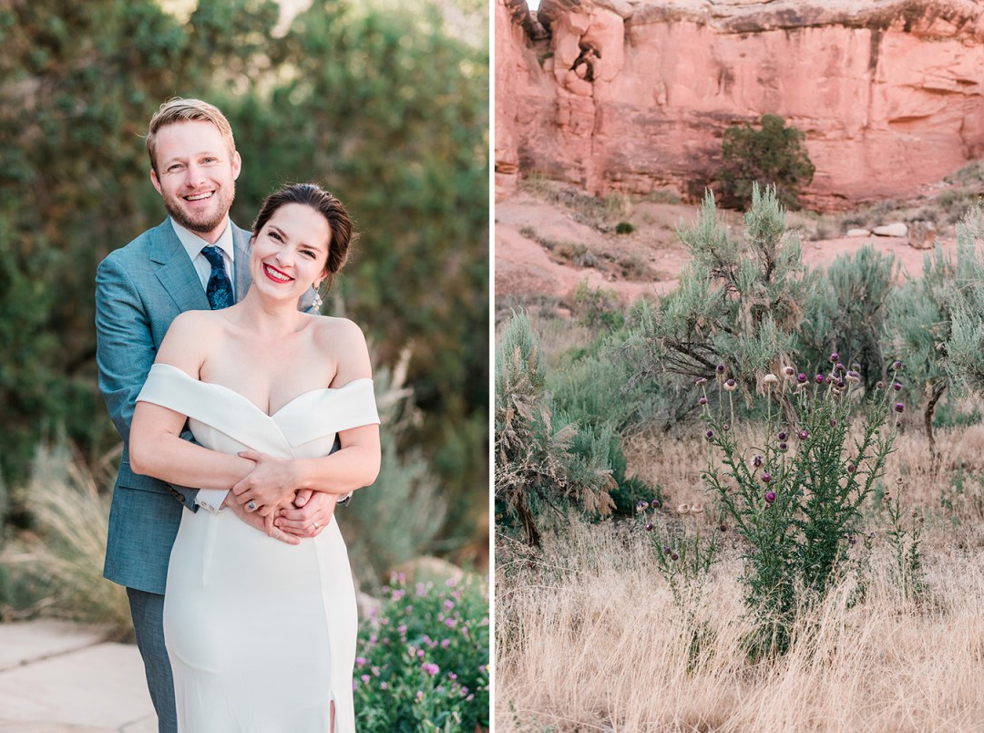 Loren & Rachel | Airbnb Elopement Near the Four Corners