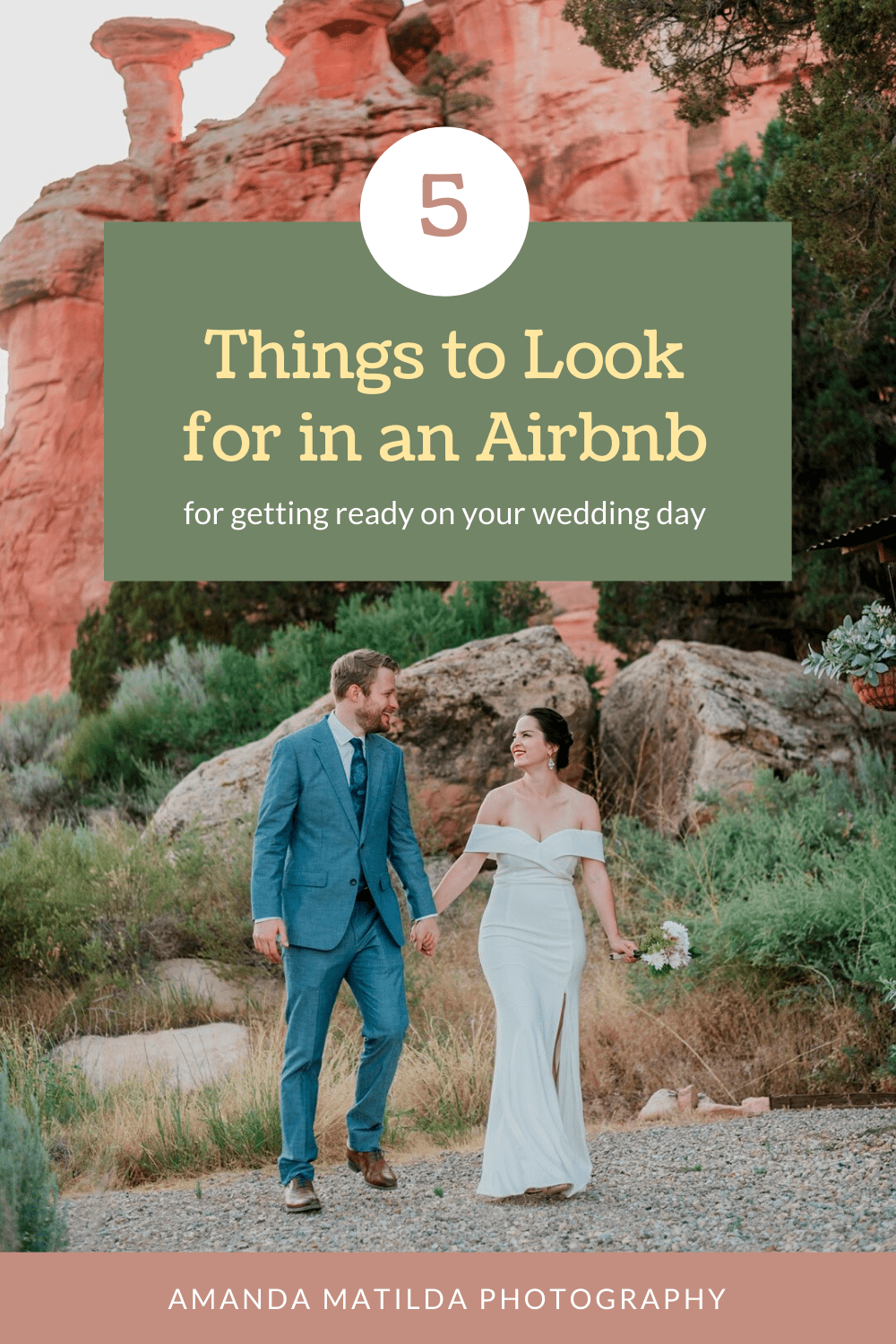 What to Look for in an Airbnb for Getting Ready on your Wedding Day | Amanda Matilda Photography