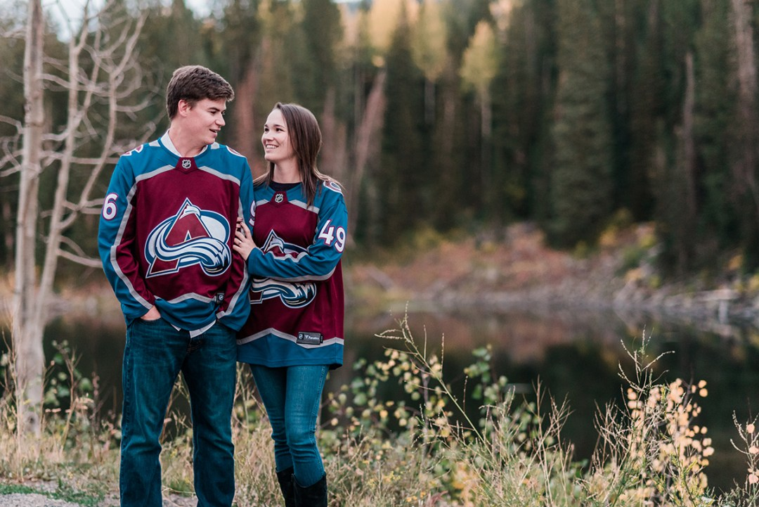 Jacqueline & Karl | Fall Engagement Photos on the Grand Mesa