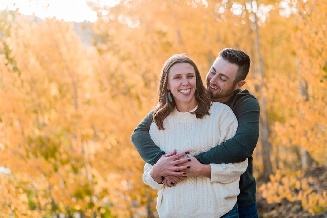 Hannah & Will | Fall Grand Mesa Engagement Photos